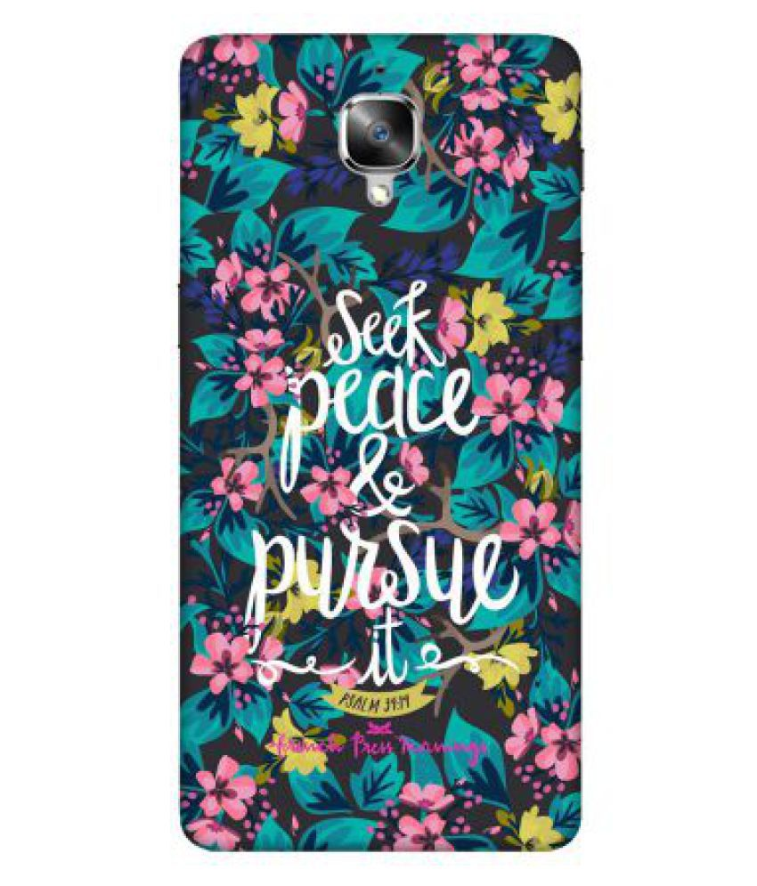 OnePlus 3 T Printed Cover By Emble