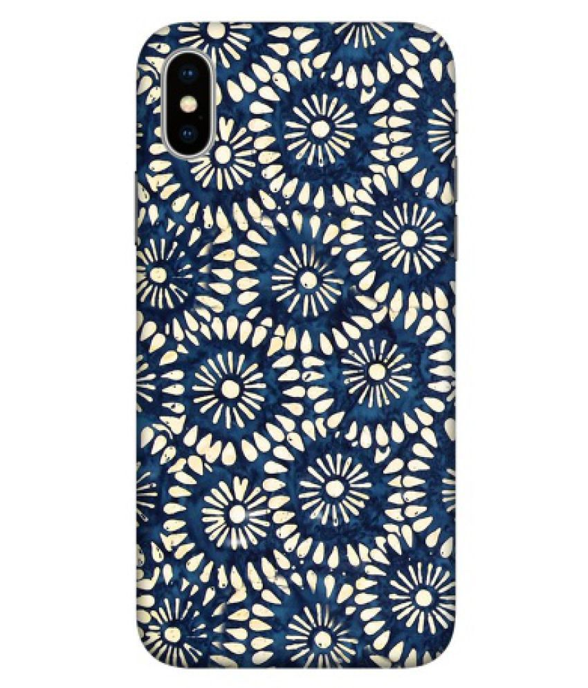 Apple iPhone X Printed Cover By Emble