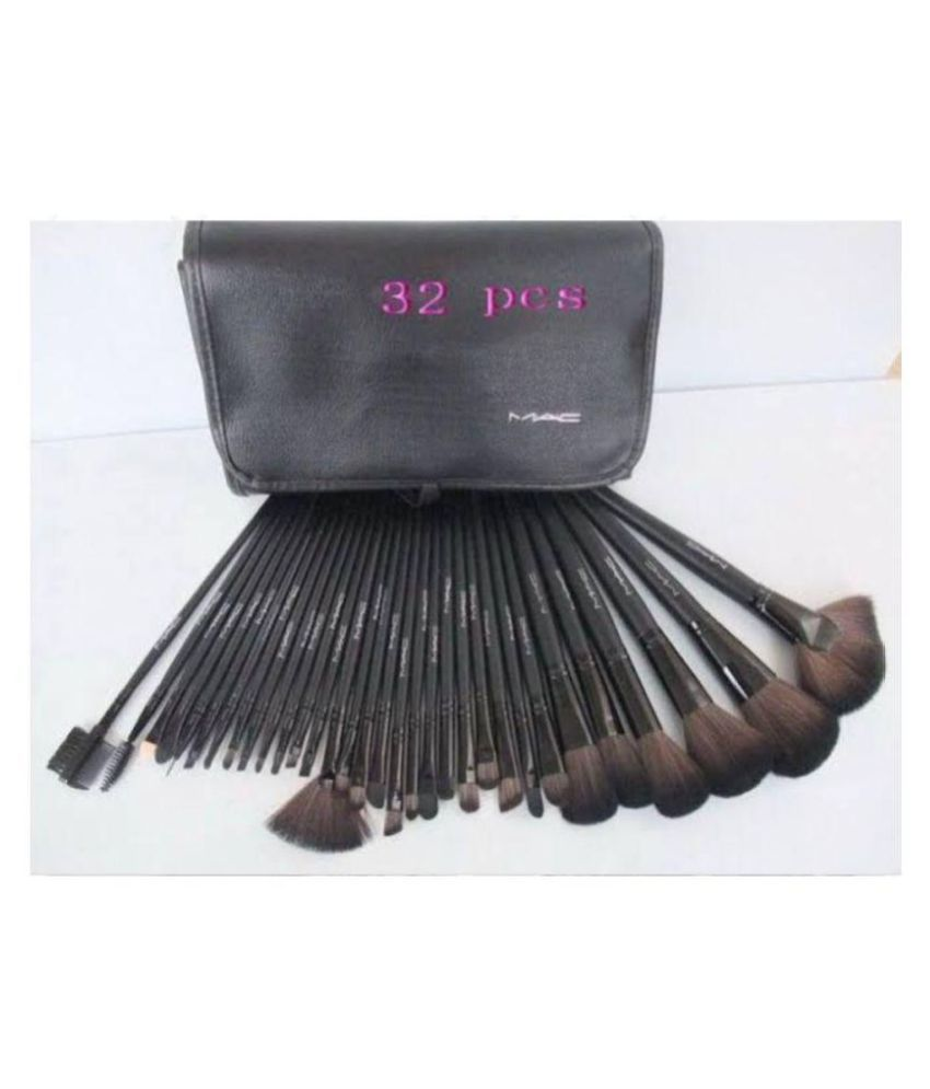 19d81b51d6 mac Makeup Brush Set 32 Pis: Buy Online at Best Prices in India - Snapdeal