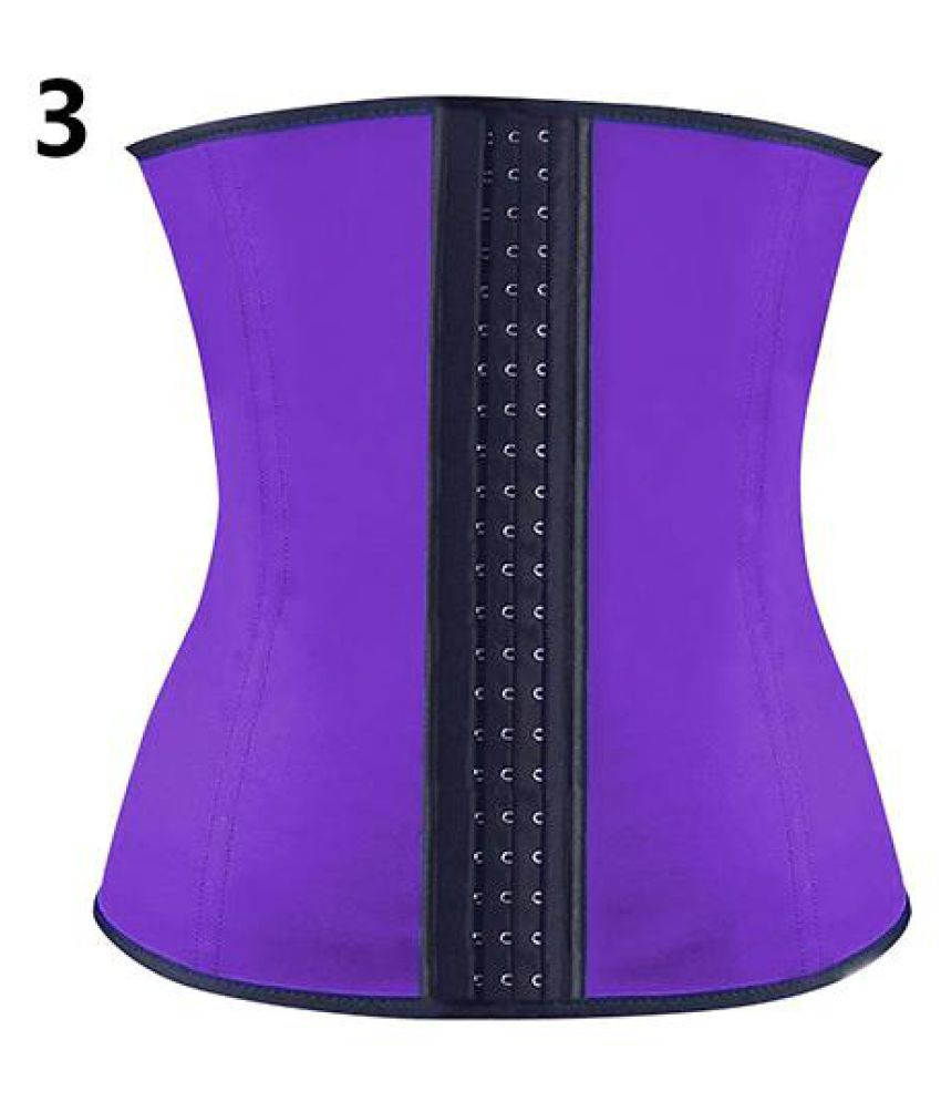 26819bc6ceb Waist Trainer Tummy Control Corset Body Shaper Fat Burning Weight Loss Slim  Belt  Buy Online at Low Price in India - Snapdeal