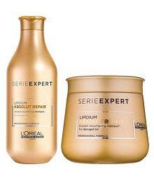 Rebellion Serie Expert Absolute Repair Shampoo + Conditioner ml