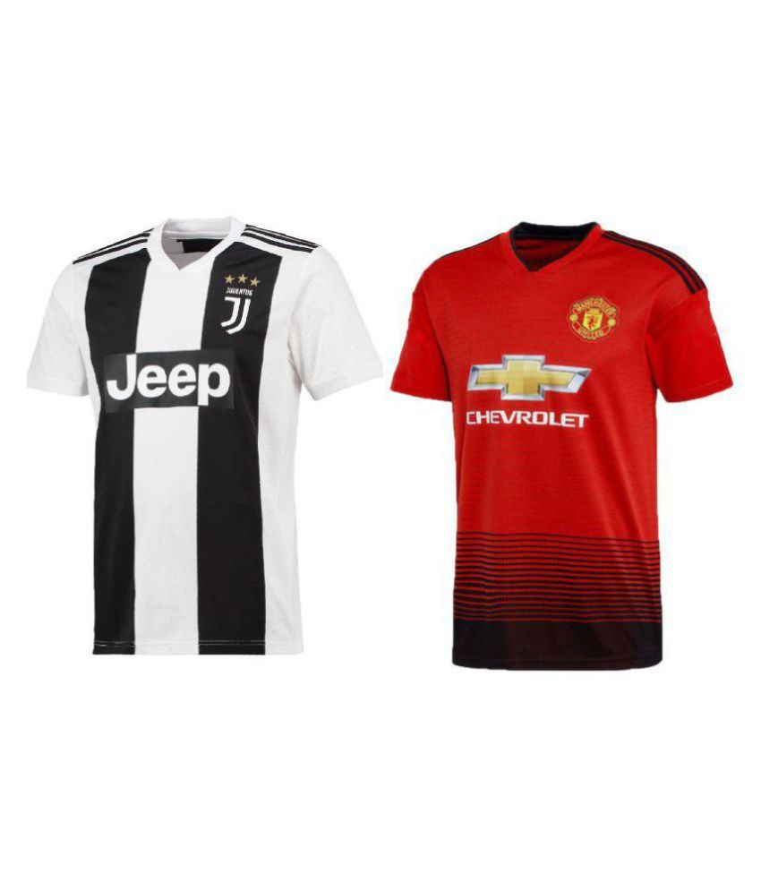 arrives 7bf6f 67a8d uniq kids football ronaldo jersey juventus white & manchester red top