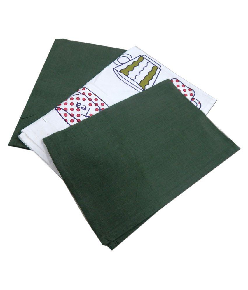 URBAN-TRENDZ Set of 3 40x40 Cotton Kitchen Towel