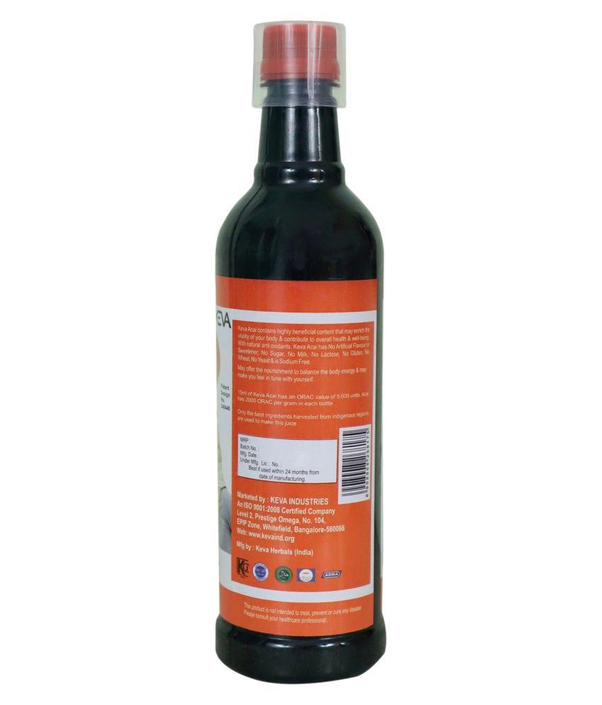 KEVA Acai Berry Juice Liquid SDL 3 ba096