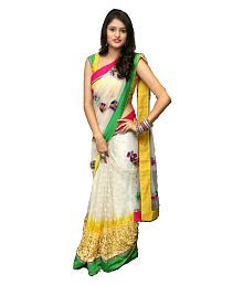 78ce1a30589 Net Saree  Buy Net Saree Online in India - Snapdeal