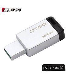 SOMOTO Kingston DataTraveler 128GB USB 3.1 Utility Pendrive Pack of 1