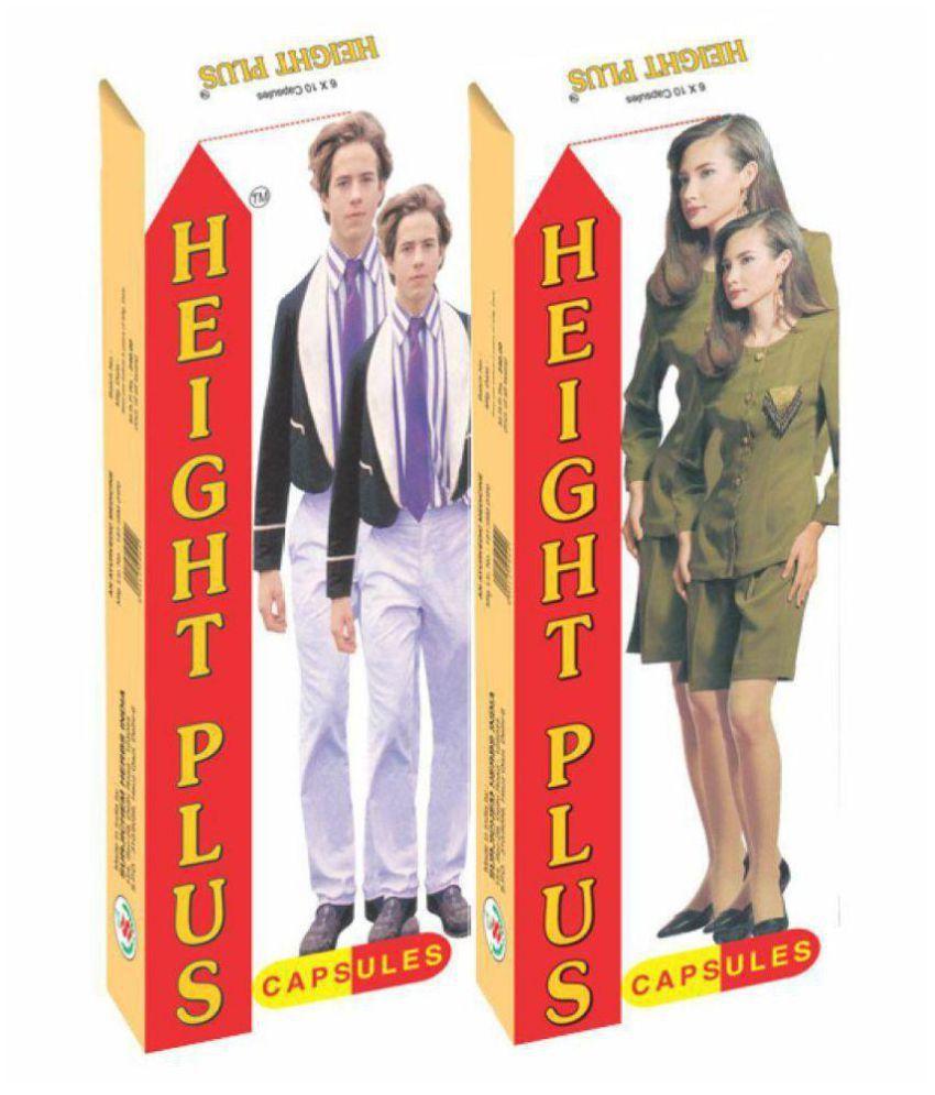 Herbalshoppe Height Plus (60x2=120) Capsule 60 no.s Pack Of 2