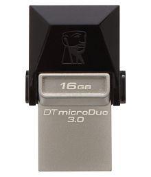 SOMOTO Kingston MicroDuo 16GB USB 3.1 Utility Pendrive Pack of 5