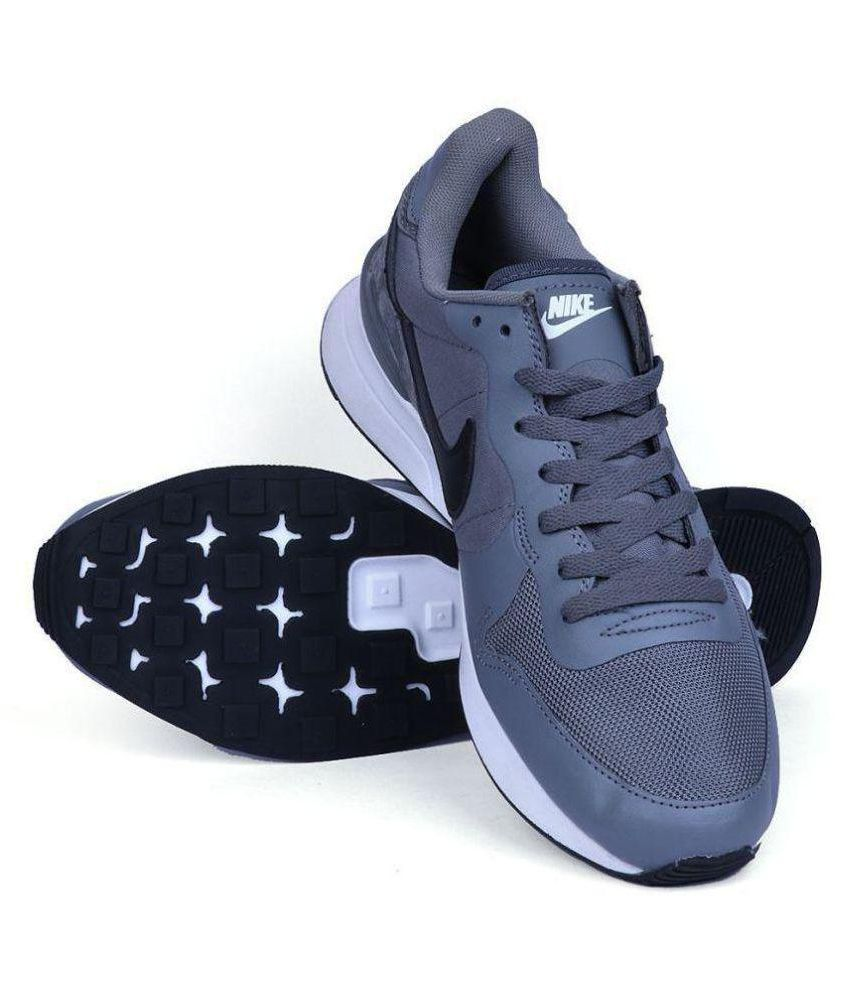 nike shoes casual lifestyle gray india