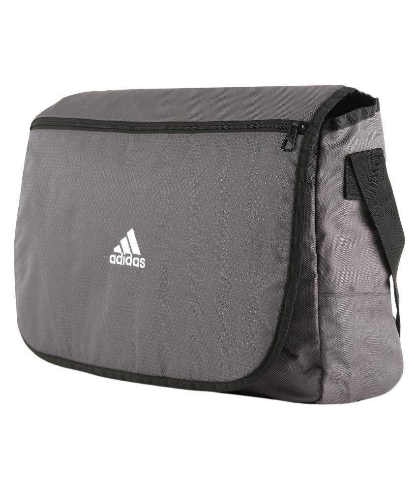 f0857d6c47 Adidas AH9102(NS) Grey Polyester Casual Messenger Bag - Buy Adidas ...