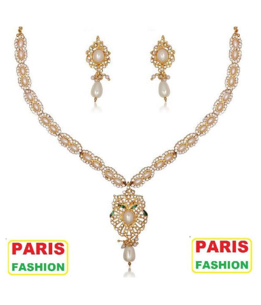 Paris Fashion Titanium Golden Opera Designer Gold Plated ...