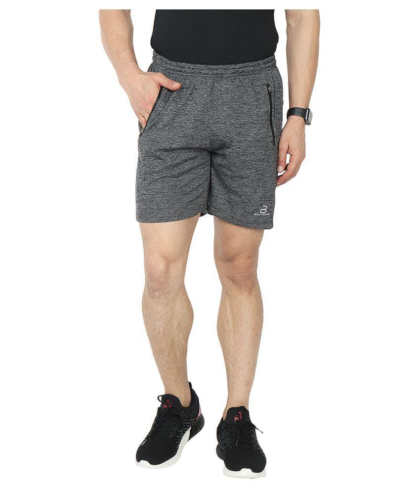 BUILT NATURAL Grey Shorts 1
