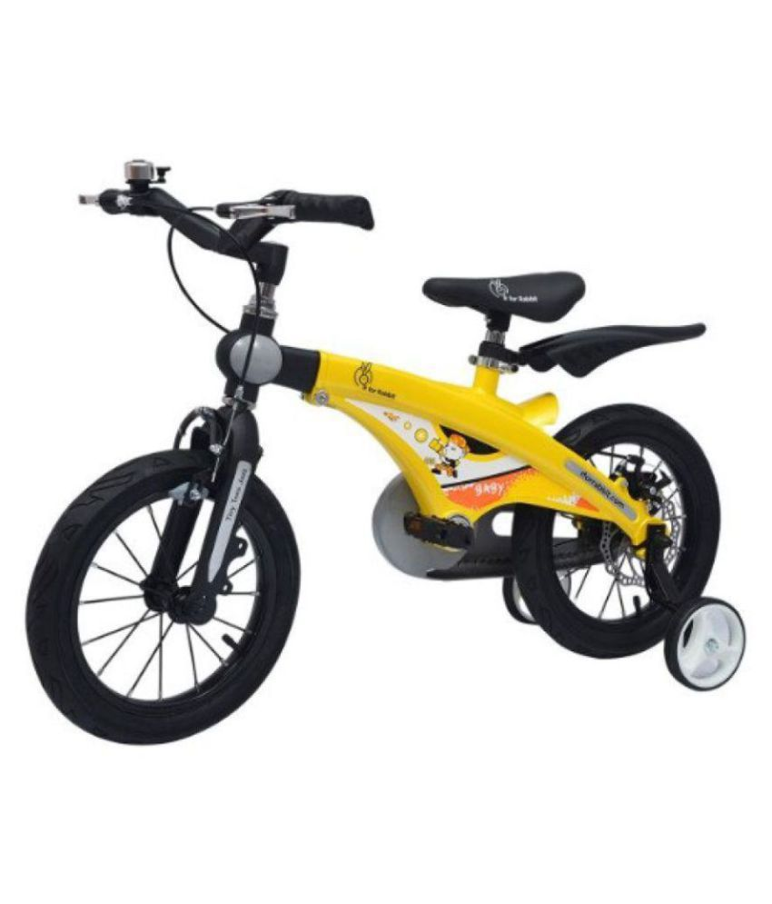 R for Rabbit R for Rabbit Tiny Toes Jazz Bicycle Yellow 35.56 cm(14) Road bike Bicycle