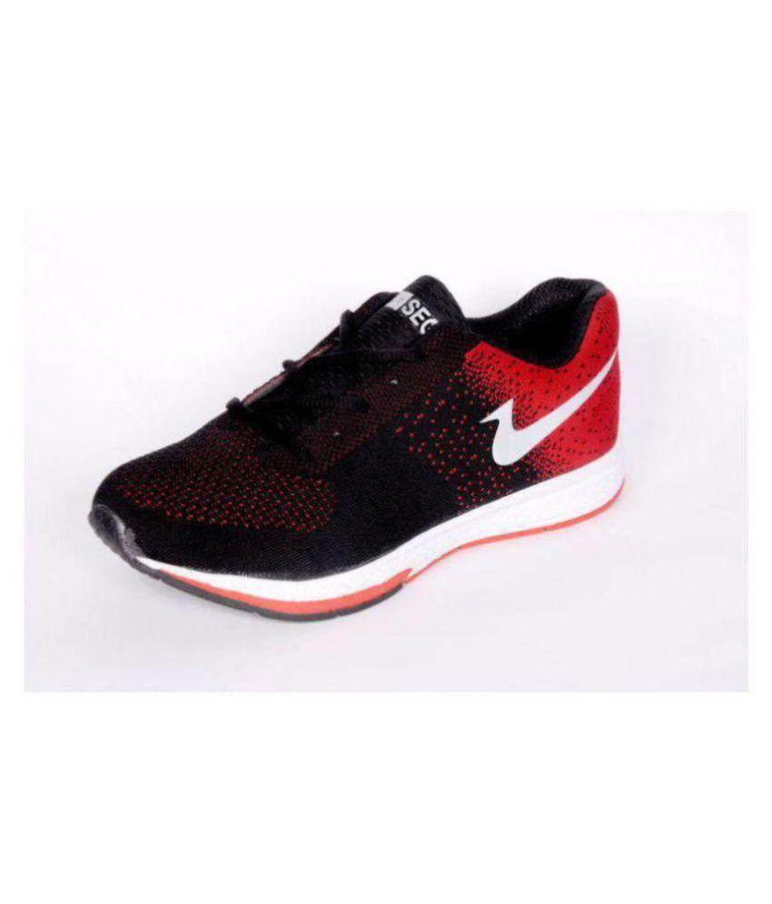 SAGA nike Running Shoes Red: Buy Online
