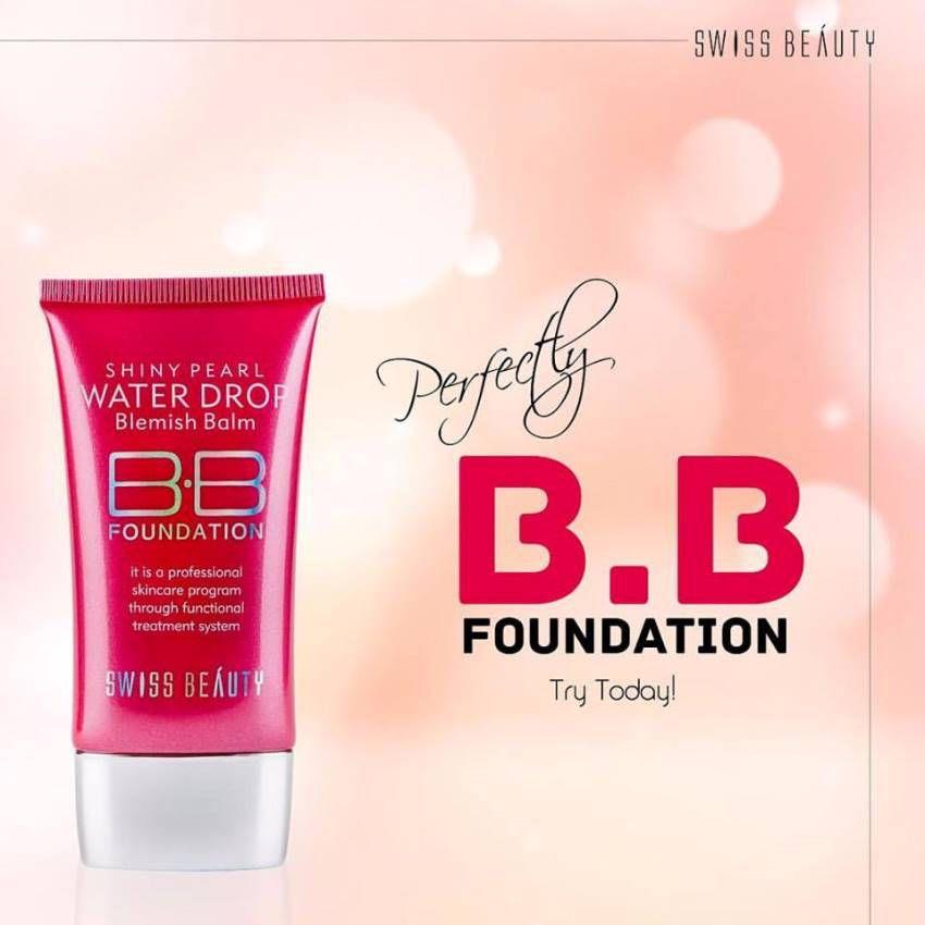 Swiss Beauty Cream BB Foundation Shiny Pearl Water Drop Blemish Balm SPF 15 40 ml 03