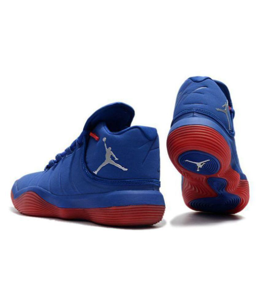 8d0faa384c1 Nike Jordan Super.Fly 2017 Blue Red Midankle Male Blue: Buy Online ...