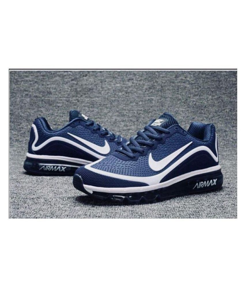 Nike NIKE AIRMAX 2018 NAVY LIMITED EDITION Running Shoes Navy