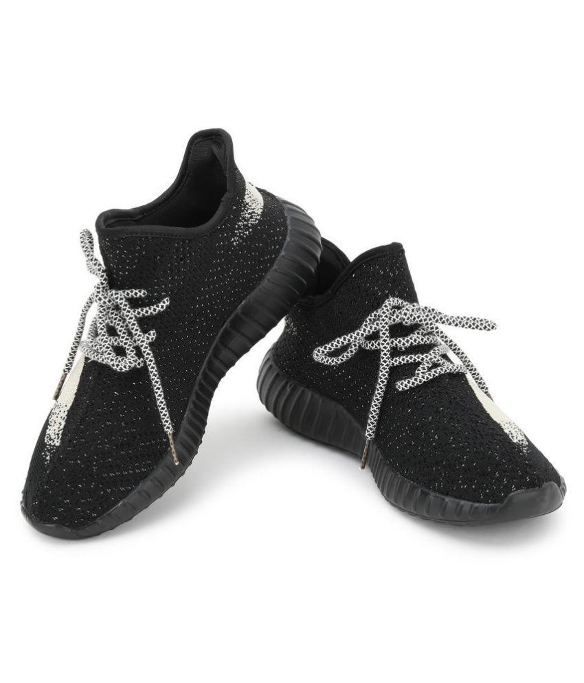 0edd03e705fa5 Mr.SHOES 1838-1-YZY BOOST 350 V2 BLACK RICE WHITE Running Shoes ...