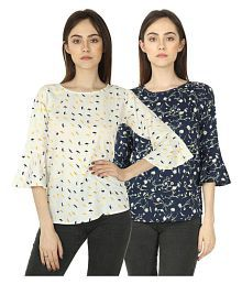 58bb89d4c8d Tops for Women: Buy Tops, Designer Tops and Tunics Online for Women ...