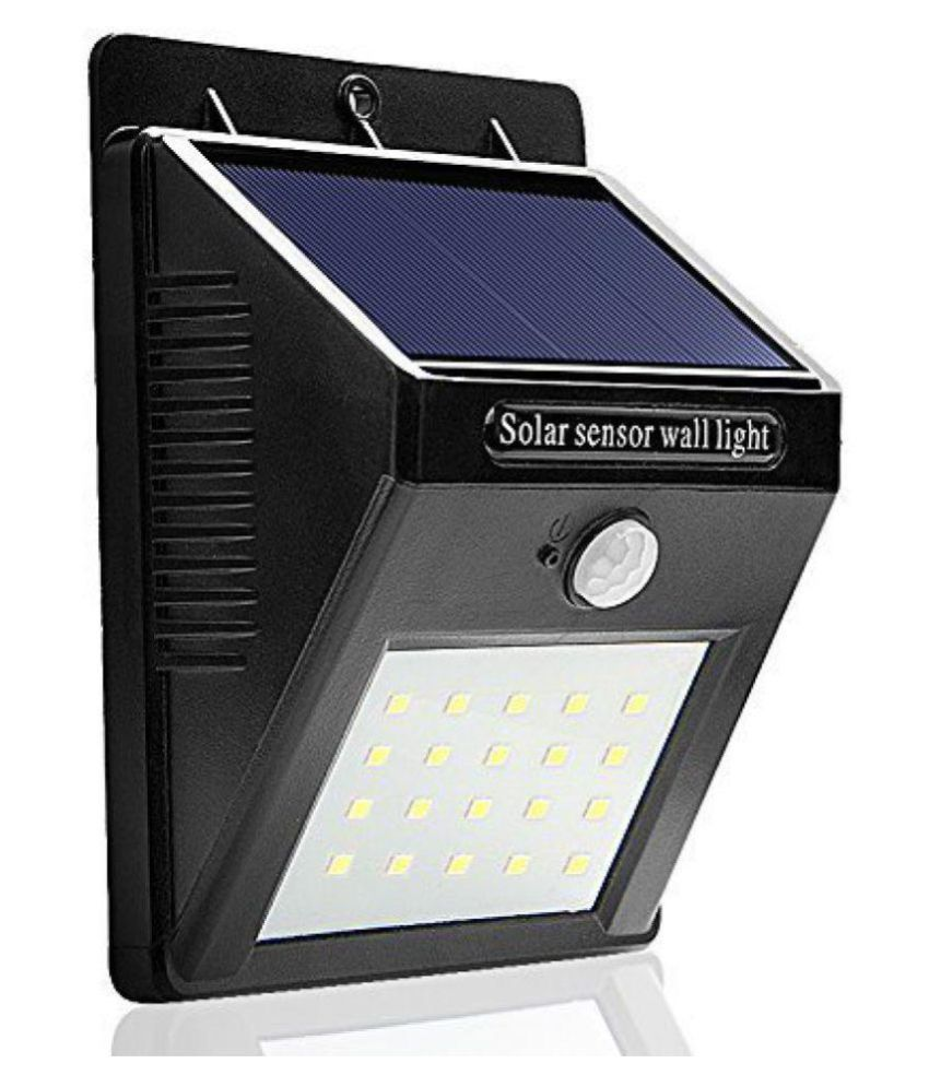 TIT 4.5W Solar Outdoor Wall Light - Pack of 1