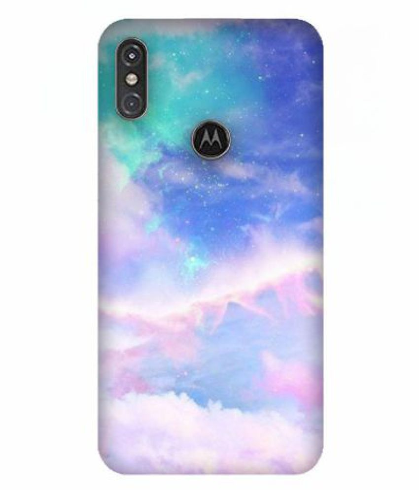 Motorola One Power Printed Cover By Emble
