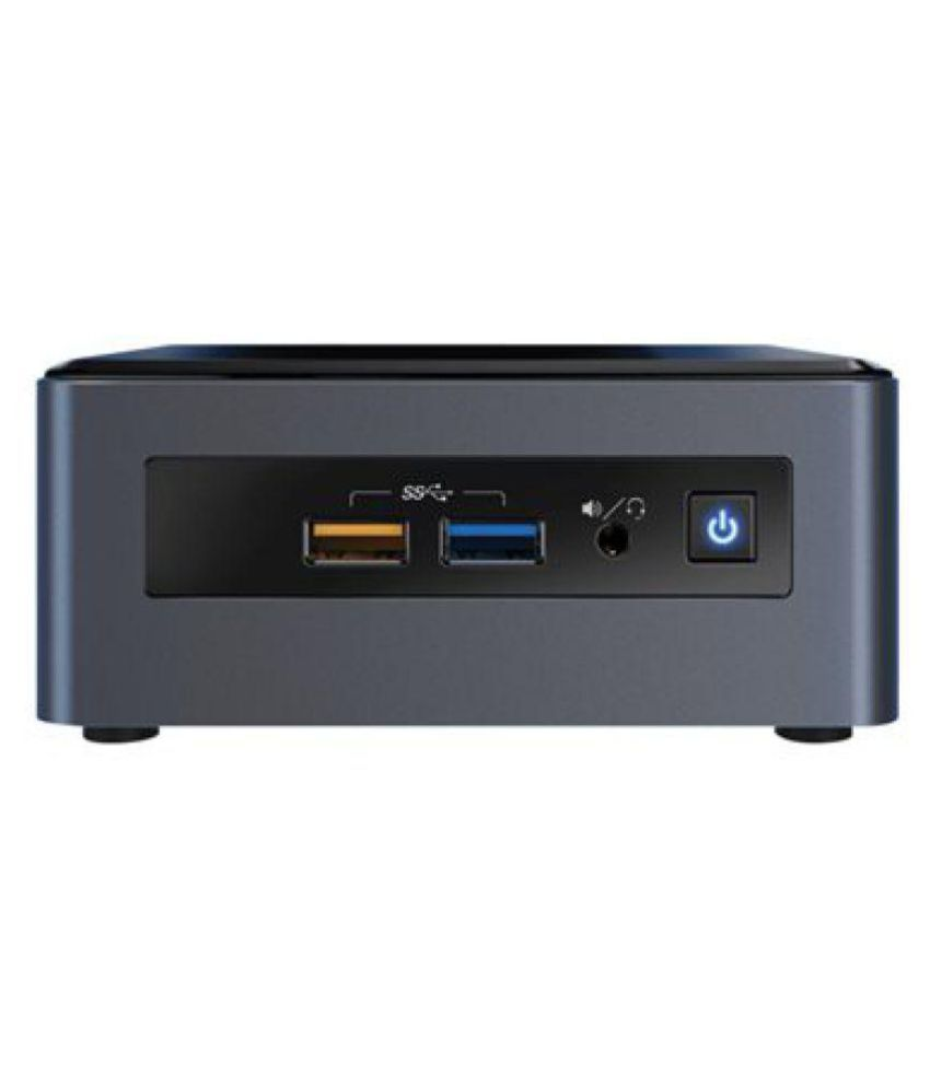 Intel BOXNUC8I3CYSN5 961405  Mini PC   Core i3  8th Generation  4  GB 1 TB Windows 10   SILVER BLACK