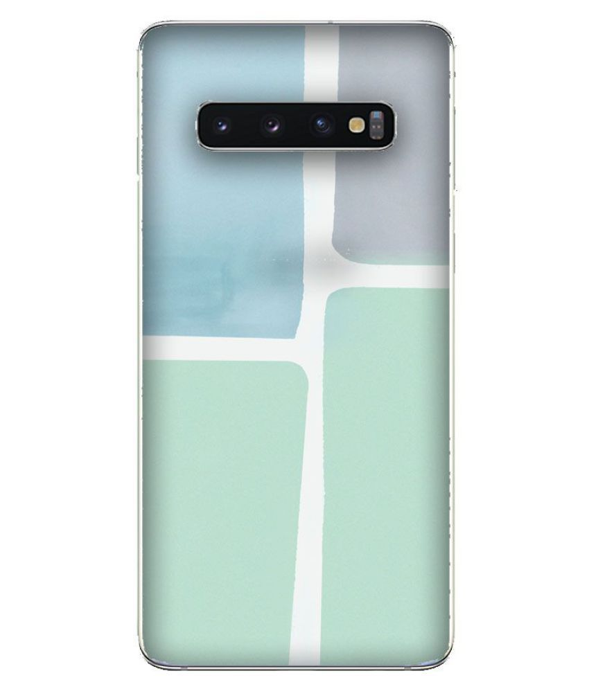 Samsung Galaxy S10 Plus Printed Cover By Emble