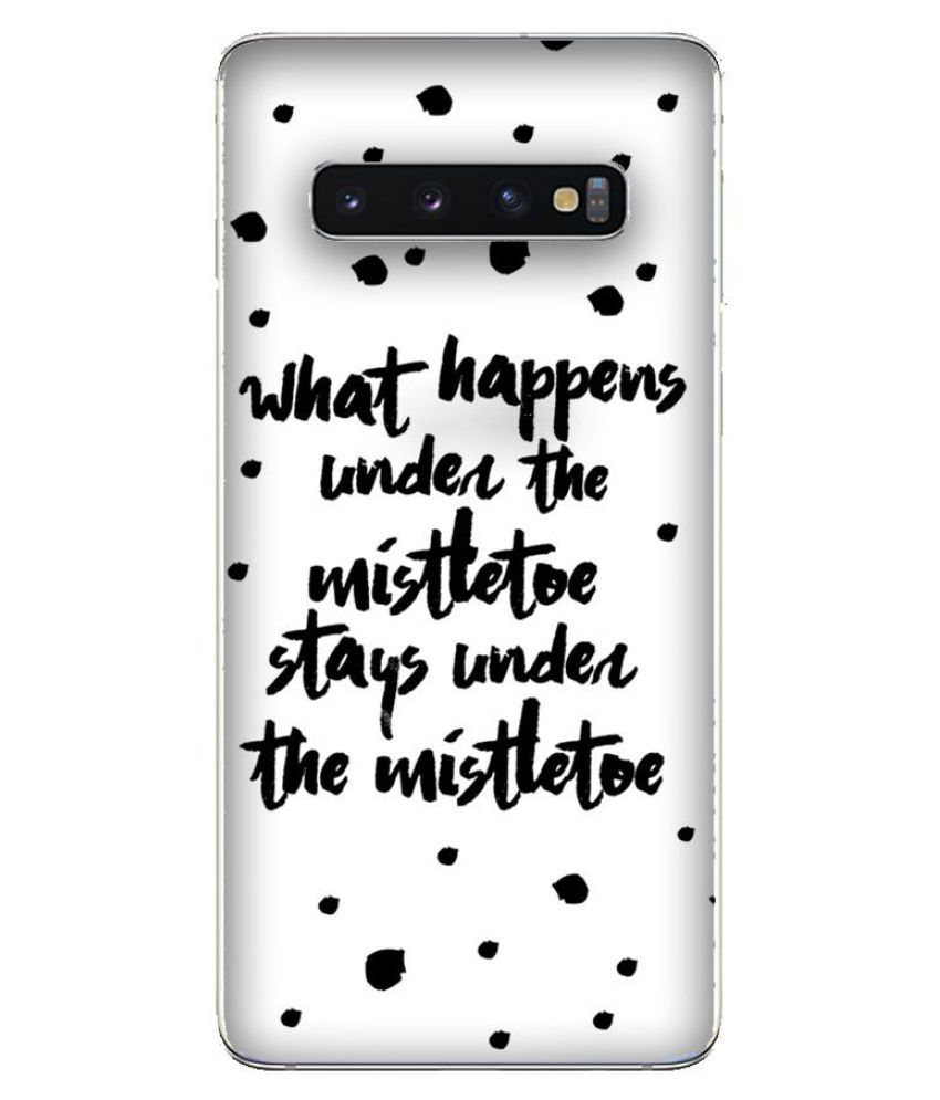 Samsung Galaxy S10 Printed Cover By Emble