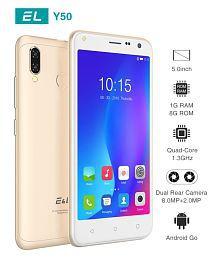 Kenxinda EL Y50 ( 8GB , 1 GB ) Golden