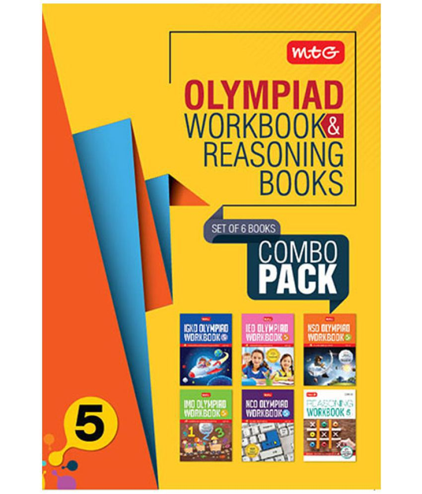 Class 5: Work Book and Reasoning Book Combo for  NSO-IMO-IEO-NCO-IGKO(2019-20)
