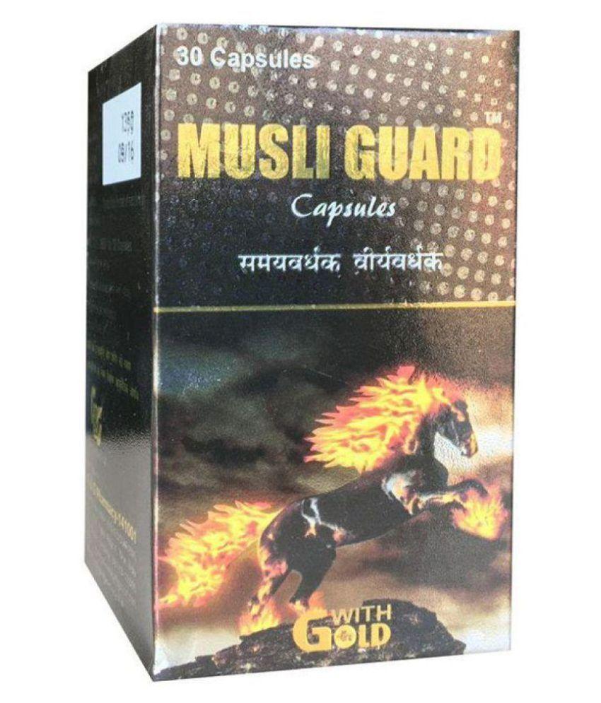 Herbalshoppe Musli Guard Capsule 30 no.s Pack Of 1