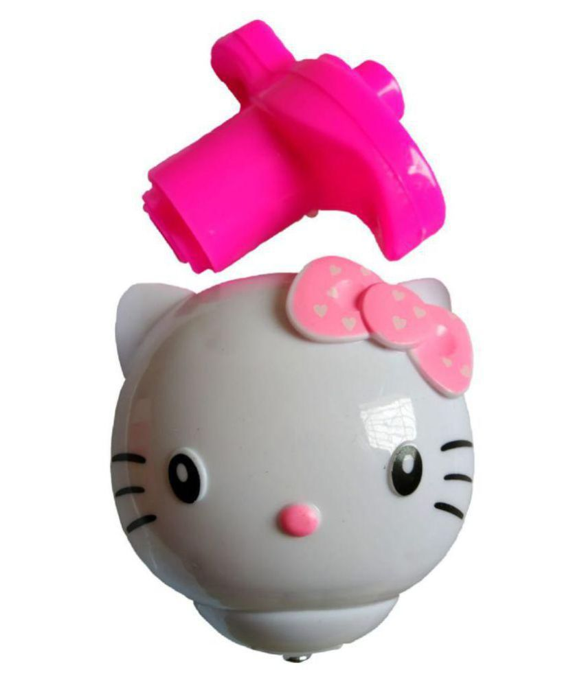 Yash Rotating Hello Kitty With Handle Launcher Toy (Multicolor) Pink
