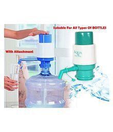 NEWVEZ Manual Hand Press For All type of Bottles 20 Water Dispenser