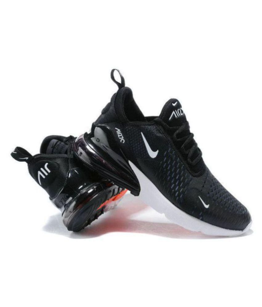 e8fc50858f Nike 1 air max 27C Running Shoes Black For Gym Wear: Buy Online at ...
