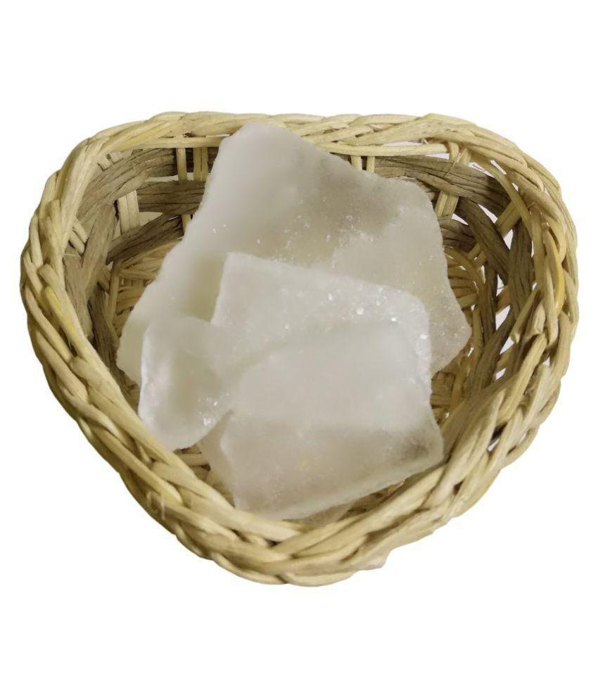 VINARGHYA PHARMACEUTICALS BHIMSENI CAMPHOR / DESI KAPOOR / KAPPUR Raw Herbs 100 gm Pack Of 1