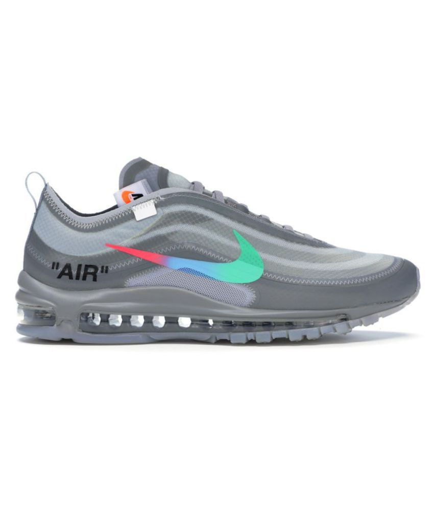 the best attitude 1484b 626bf Nike Air Max 97 Off-White x 2019 LTD Running Shoes Gray