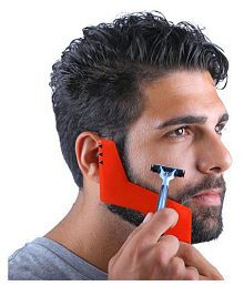 Fashion Men Perfect Lines Symmetry Beard Shaping Styling Template Stencil Tool
