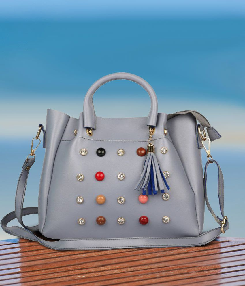 Roseberry Gray P U  Sling Bag