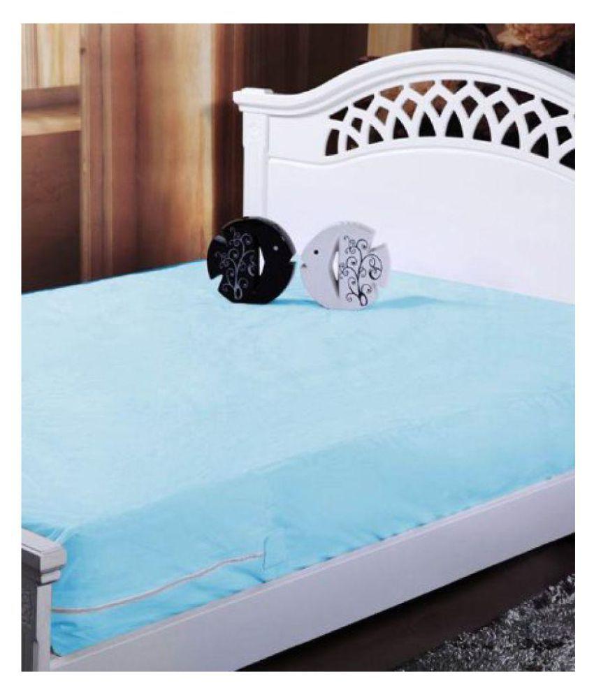 HomeStore-YEP 100% Waterproof Sky Blue Others Mattress Protector