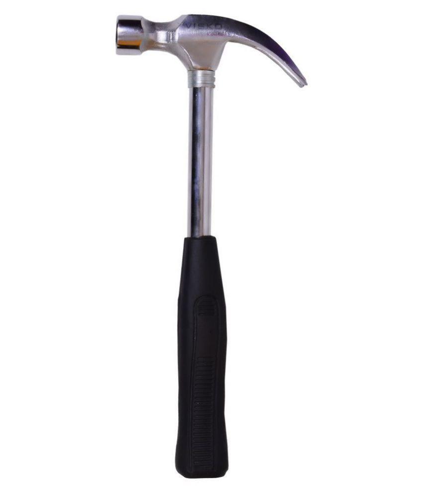 Visko 705 1 lb (16 oz) Steel Shaft Claw Hammer