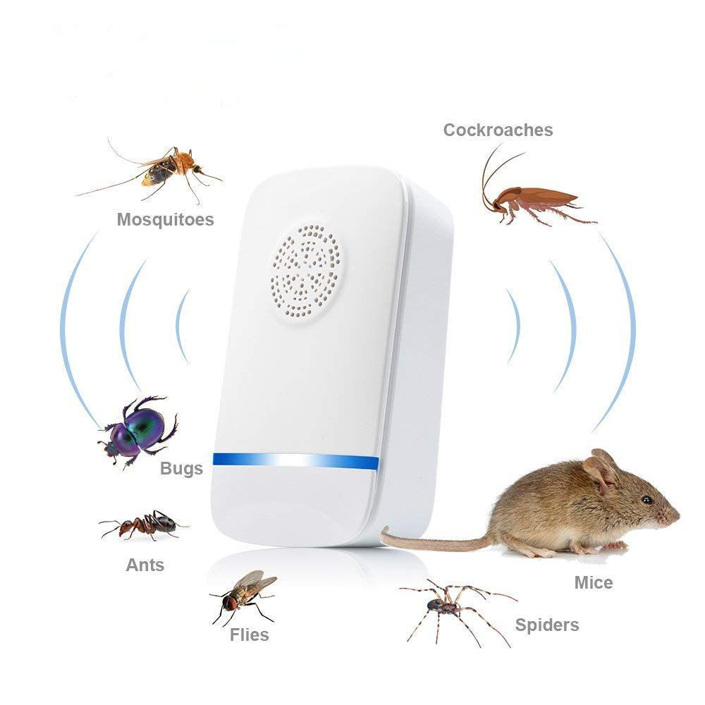 PRAYAAS Pest Repeller Electronic Mouse Bug Repellent & Mosquito