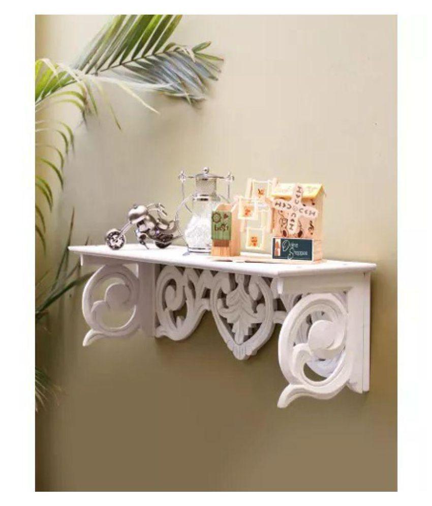 Onlineshoppee MDF Wall Decor Wall Shelf Rack