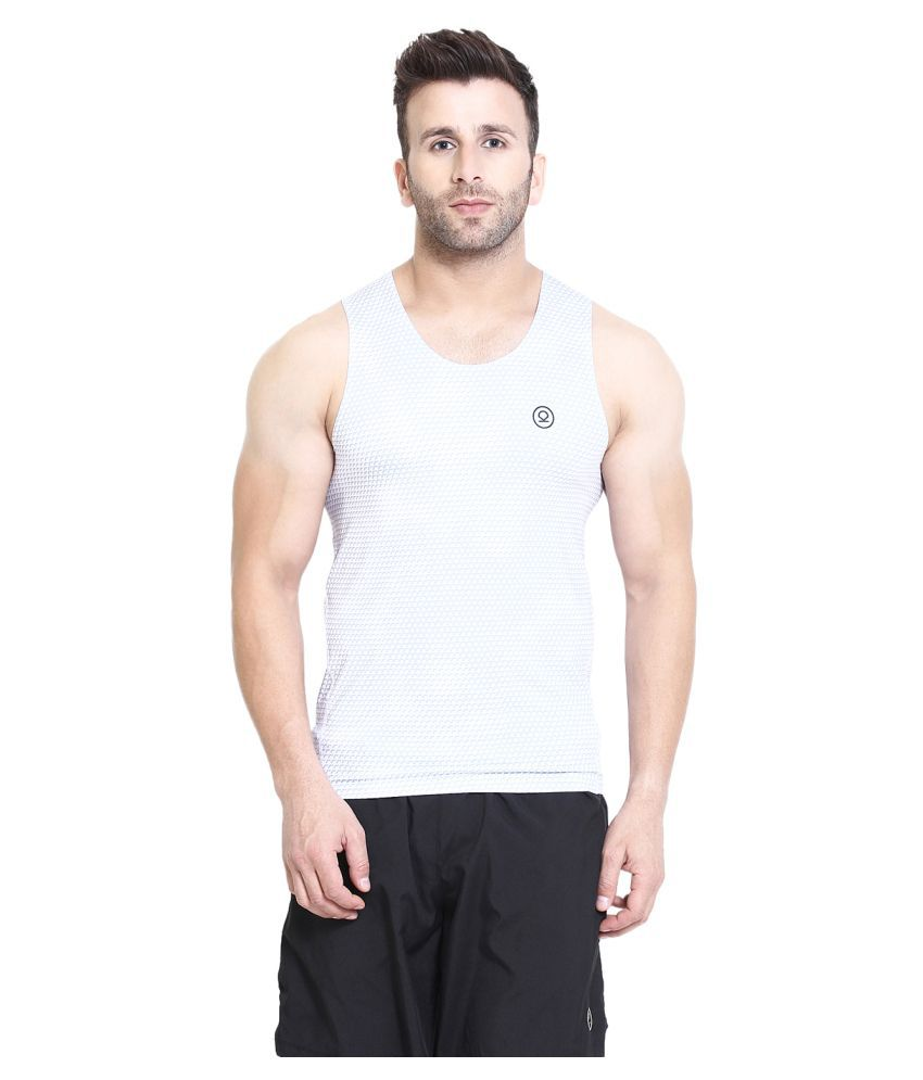 CHKOKKO Compression Dry Fit Sleeveless Gym and Sportswear Tank Top for Men