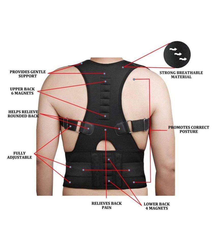 Designeez 1Pc Posture Corrector Upper Back Shoulder Support S