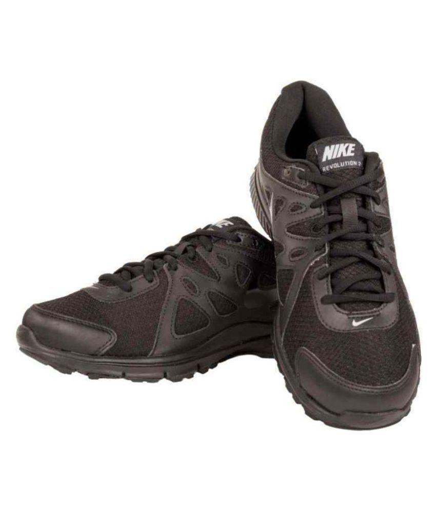 Buy Nike Revolution2 Black School Shoes