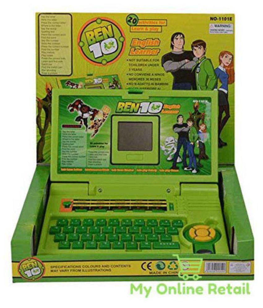 Zenith Toys Ben 10 English Learner Laptop for Kids 20