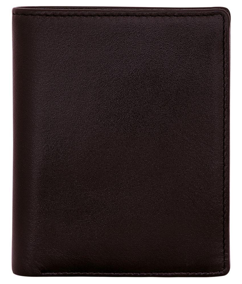 POLLSTAR Leather Brown Casual Regular Wallet