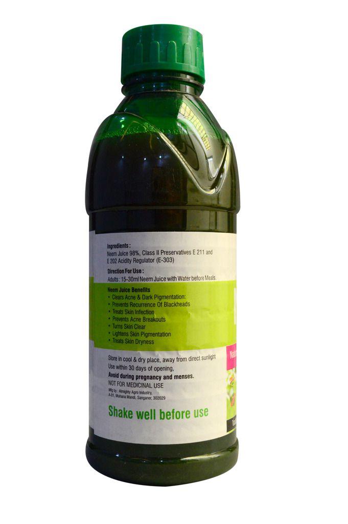 Scortis NEEM JUICE- Health Drink Liquid 1000 ml Pack of 3