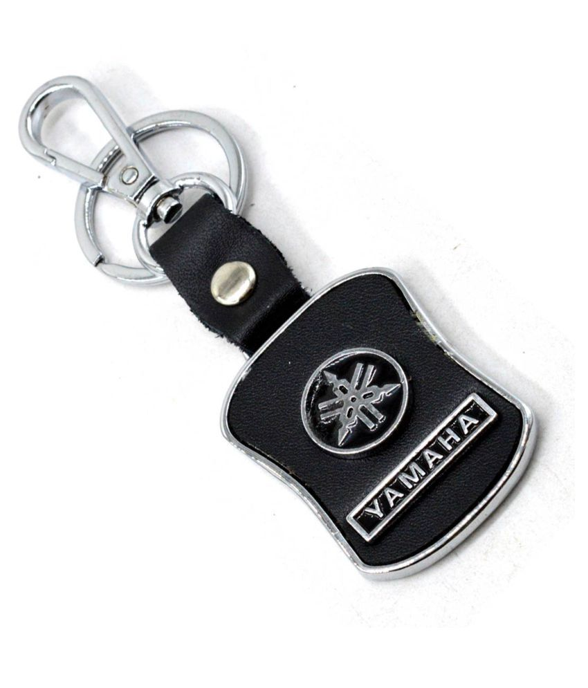 Premium Quality Leather Keychain Compatible for Yamaha ...