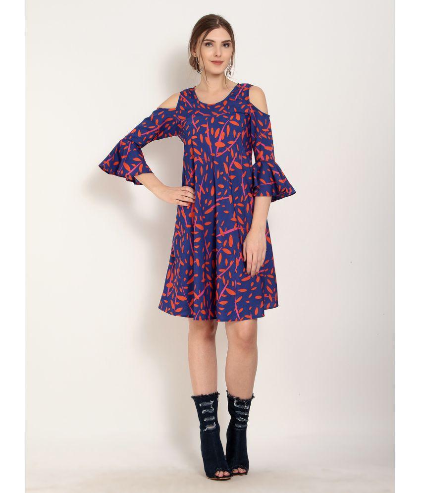 Abiti Bella Crepe Multi Color Dresses
